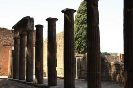 Inside the Pompeii Ruins. - July 2008