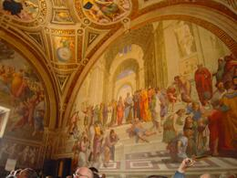 Photo of Rome Skip the Line: Vatican Museums Walking Tour including Sistine Chapel, Raphael's Rooms and St Peter's School of Athens Fresco