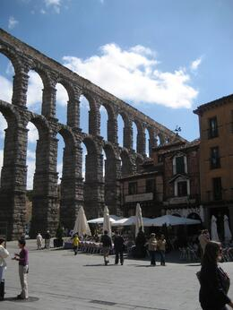 Photo of Madrid Avila and Segovia Day Trip from Madrid Segovia's Aqueduct