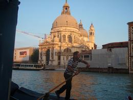 Stayed at l Gritti Palace right on Grand Canal. Same view from our room, just a bit higher.Photo taken from the restaurant with piano music playing in the background watching the gondolas go by as ... , Zeina S - June 2010