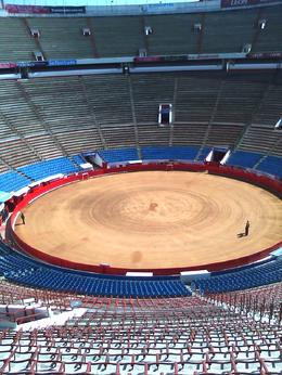 Empty on Saturday but the stands will be packed with 50,000 fans on Sunday to watch the Bull Fights. , Thao E - November 2012