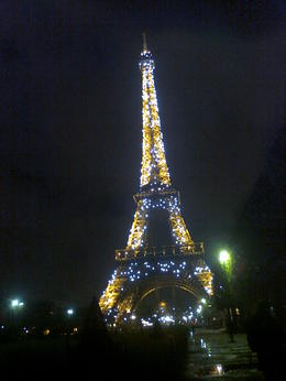 EIFFEL TOWER AT NIGHT... , YUKSEL A - December 2012
