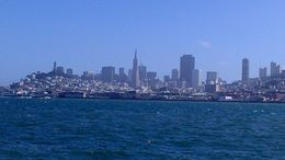 skyline of san francisco and no fog ! , nadege - October 2015