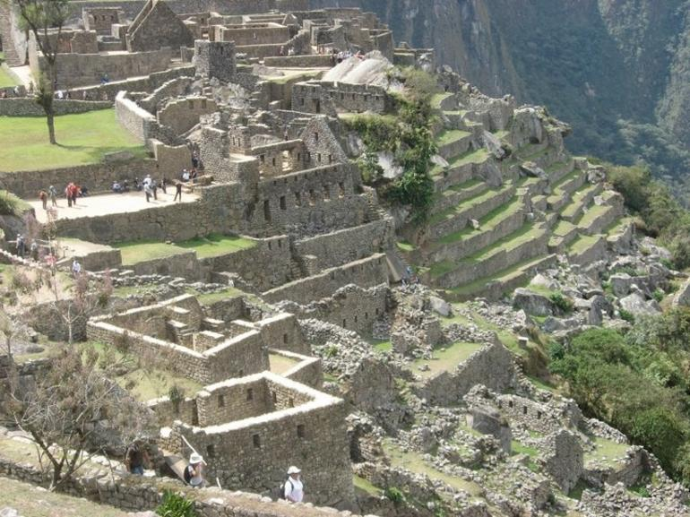 View of the Outside of the City of Machu Picchu - Cusco