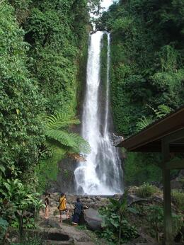 Photo of Bali Singaraja and Bedugul North Coast Bali Mountain Tour Waterfall