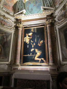 Photo of Rome Caravaggio Art Walking Tour of Rome with Wine Tasting A Caravaggio visited