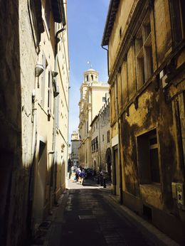 The sites of Arles , Britt P - June 2015