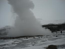 The geysers at full stretch, Margaret S - December 2007