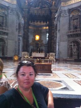 Kat in the Bassilica , Jason C - August 2012