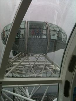 Photo de Londres London Eye : vol et champagne London Eye Capsule