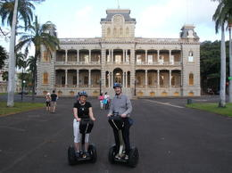 Taking in the historical sights and learning about Hawaiian history., Undercover Américan - February 2012
