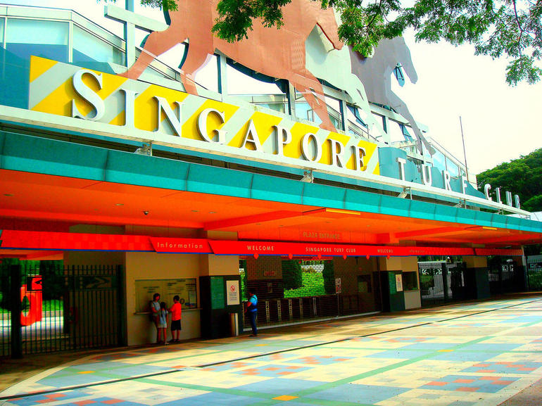 Singapore Turf Club Entrance - Singapore Sporting Events & Packages ...