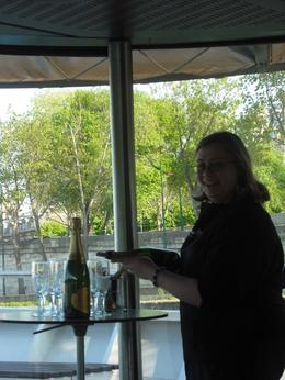 Photo of Paris Champagne Tasting on a Seine River Cruise Sommelier