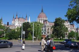 This photo is taken from Memorial Square which is just across the street., Elmarie Magda D - August 2010