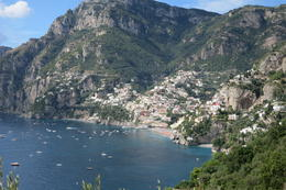 Photo of Rome Pompeii and Amalfi Coast Small Group Day Trip from Rome View of Positano.