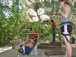 Photo of Cancun 4-in-1 Tulum Adventure: Zipline, Cavern Rappel, Cave Snorkel and Skycycle 5