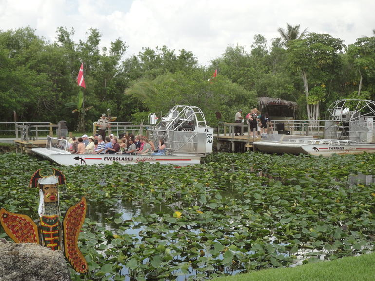 Air Boats, Florida Everglades - Miami