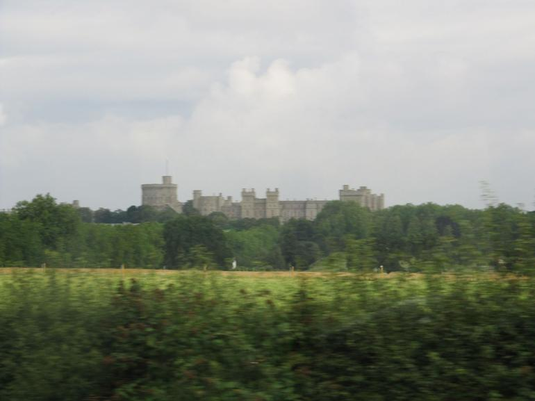 Approaching Windsor Castle - London