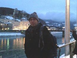 Atef enjoying Salzburg ! , Atef R - January 2013