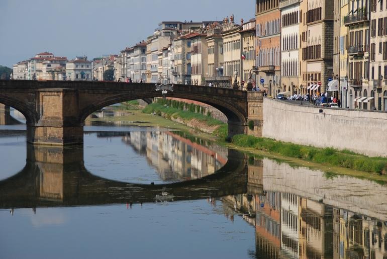 Bridge Reflection - Florence