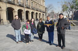 Our tour group with guide Toni , david-moore - February 2014