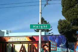 Haight Street sign, not quite the famous one, but you get the idea. , Skootre - April 2011