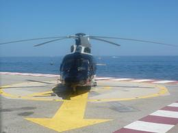 Photo of Monaco French Riviera Scenic Helicopter Tour from Monaco helicopter arrives.jpg