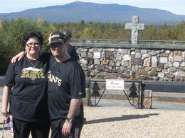 We stopped at the outdoor alter and was so beautiful and inspirational in the mountains , MinnieMouse - November 2013