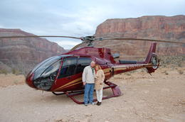 Photo of Las Vegas Grand Canyon West Rim Deluxe Sunset Helicopter Tour Just landed!