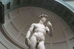 Photo of   Michelangelo's statue of David (Accademia, Florence)
