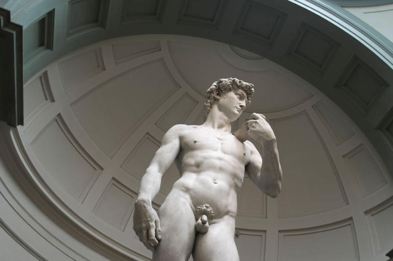Michelangelo's statue of David (Accademia, Florence) - Florence