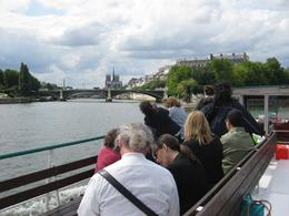 On the Seine, after coming out from the canal. - August 2009