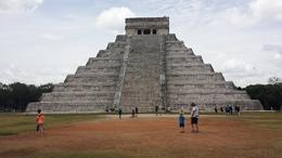 Photo of Cancun Cancun Combo: Chichen Itza Tour plus Isla Mujeres Dolphin Encounter or Catamaran Sail with Snorkeling the famous temple
