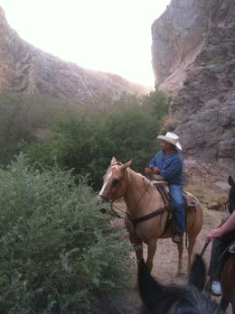 Photo of Las Vegas Wild West Sunset Horseback Ride with Dinner Time to Rest