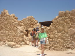 Photo of Jerusalem Masada and the Dead Sea Day Trip from Jerusalem TOP OF THE MOUNTAIN