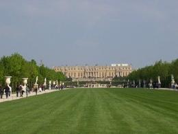 Versailles-view from the gardens - April 2009
