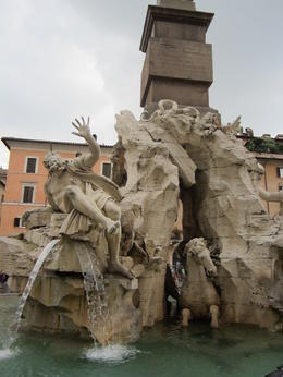 Piazza Navona , Tancred C - July 2013
