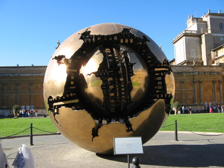 World at the top of the Vatican - Rome
