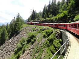 Photo of Milan Swiss Alps Bernina Express Rail Tour from Milan Bernina Espress