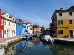 Colored houses of Burano , Melanie T - November 2014
