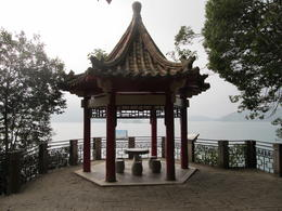 Walking path around Sun Moon Lake , Allen - November 2014