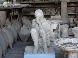 Photo of Rome Naples and Pompeii Day Trip from Rome Child frozen in time!!