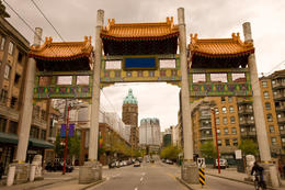 Vancouver Chinatown and Millenium Gate - May 2011