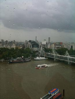 Photo de Londres London Eye : vol et champagne City view