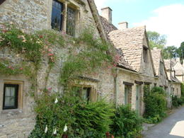 The famous Arlington Row in Bibury---my dream village! , Jessica - July 2011