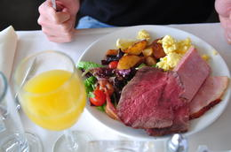 Photo of San Francisco San Francisco Champagne Brunch Cruise delicious food from the buffet