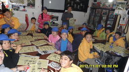 Photo of Beijing Private Cultural Tour: Hutong Rickshaw Ride, Tea Ceremony and Dumpling Making in Beijing DSC03877