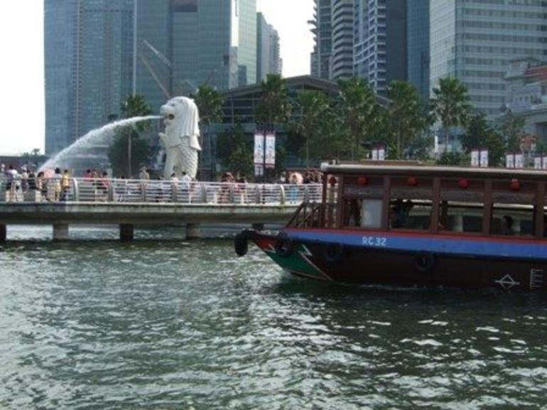 from the boat - Singapore