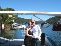 Photo of Sydney Lunch at Cottage Point Inn by Seaplane from Sydney Just landed at the Cottage Point Restaurant