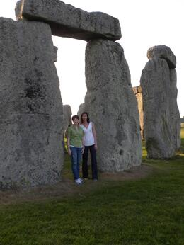 Photo of London Private Viewing of Stonehenge including Bath and Lacock Kristin and Kathryn at Stonehenge